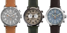Shinola The Chrono Watch
