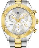 Tissot T1019172203100 PR 100 Sport Chic Chronograph Ladies Swiss Watch