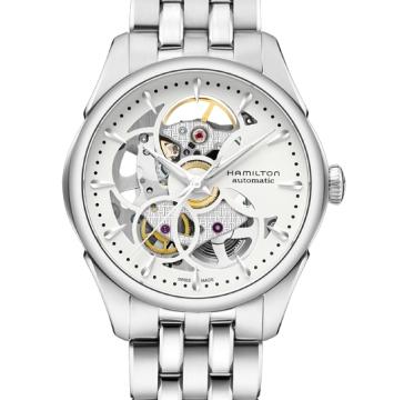 Hamilton H32405111 Jazzmaster Viewmatic Skeleton Ladies Swiss Watch