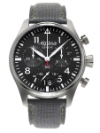 Alpina Geneve AL-372B4S6 Startimer Pilot Big Date Chronograph mens Swiss watch