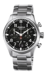 Alpina Geneve AL-372B4S6B Startimer Pilot Big Date Chronograph mens Swiss watch