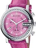 Gucci YA101313 G Chrono ladies Swiss watch